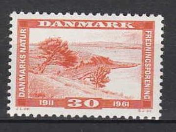 DN's jubilæumsfrimærke fra 1961