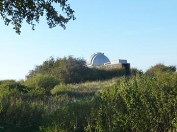 Brorfelde Observatorium, Foto: Thomas Eriksen