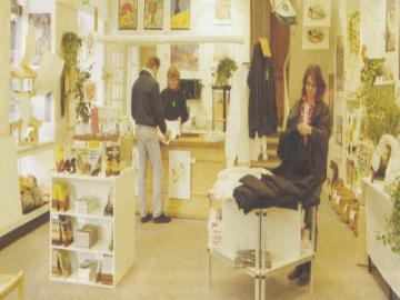 Billede fra DN's butik i Nørregade
