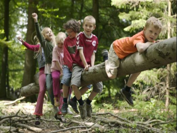 Børn i naturen