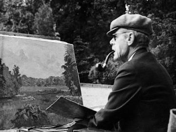 Johannes Larsen (1867-1961), Foto: Johannes Larsen Museet
