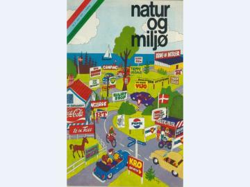 Forsiden af Natur & Miljø, 1974