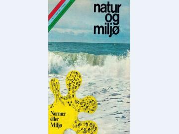 Forsiden af den første udgave af Natur & Miljø fra 1974