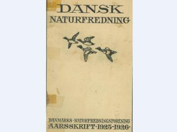 Forsiden på DN's første årsskrift fra 1925