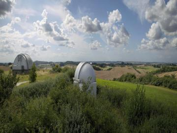 Brorfelde Observatorium, Foto: Brorfelde Vennekreds, www.brorfelde.dk/