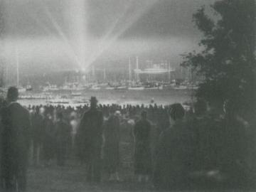 Foto fra indvielsen af Klampenborg-parken, Foto: DN