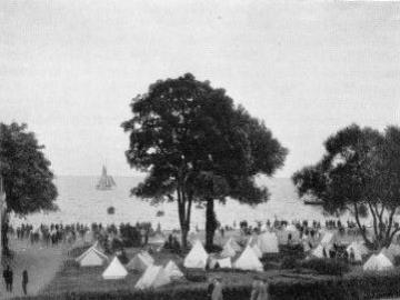 Lejrplads ved Øresundskysten, Foto: DN